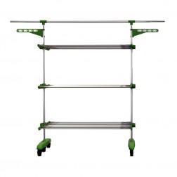 Séchoir à linge pliable multifonction - Herzberg HG-5015